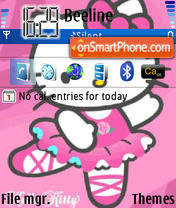Hello Kitty 15 theme screenshot