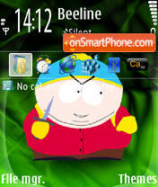 Cartman 02 theme screenshot