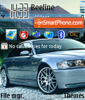 Bmw 09 theme screenshot