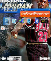 Michael Jordan theme screenshot