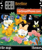 Disney Babies theme screenshot