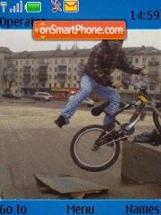 BMX XXX theme screenshot
