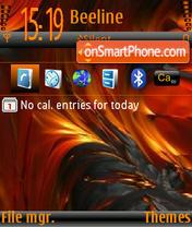 Lava2 l9.0 es el tema de pantalla