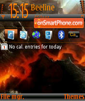 Lava3 l9.0 theme screenshot