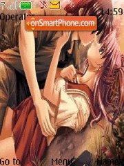 Anime Love Kiss 02 tema screenshot