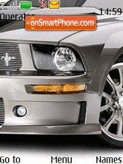 Скриншот темы Ford Mustang 06