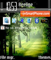GreenForest theme screenshot