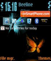 Butterflies 02 theme screenshot