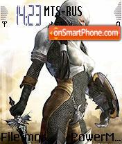 Warrior Girl v2 es el tema de pantalla