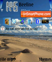 Sansee theme screenshot