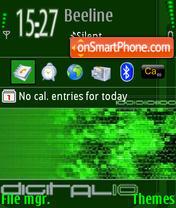 Скриншот темы Digitalio L9.0
