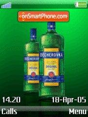 Becherovka theme screenshot