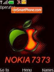 Nokia 7373 Music Theme-Screenshot