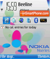 NSeries Music theme screenshot