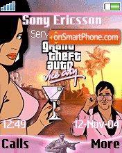 Gta Vice sity es el tema de pantalla