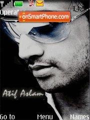 Atif Aslam New theme screenshot