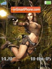 Tomb Rider 01 es el tema de pantalla