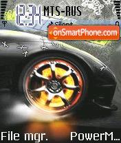 NFS PS 01 theme screenshot