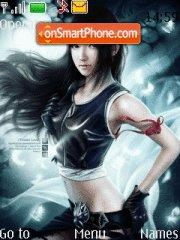 Tifa Lockheart theme screenshot