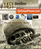 Skullwar es el tema de pantalla