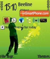 Golf 05 es el tema de pantalla