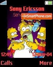 Скриншот темы Simpsons Hellowin