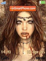 Gothic Vamps theme screenshot
