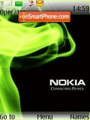 Nokia Green tema screenshot