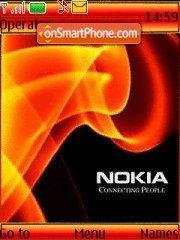 Nokia Orange theme screenshot