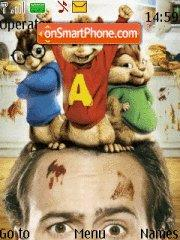 Alvin Nd D Chipmunks es el tema de pantalla