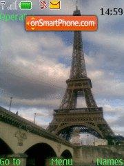 Paris Paris tema screenshot