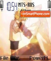 Anime 16 theme screenshot