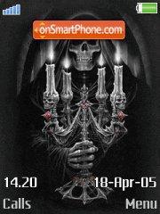 AlchemyHorror theme screenshot
