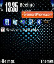 Light Blue theme screenshot