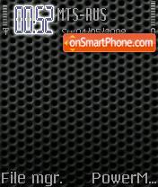 Carbon S60v2 theme screenshot