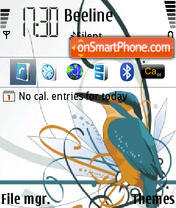 Bird 04 Theme-Screenshot