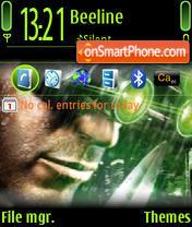 Splinter Cell 05 theme screenshot