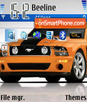 Mustang 07 theme screenshot