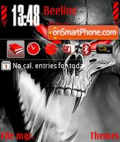 Grey Demon theme screenshot