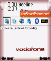 Vodafone Live theme screenshot