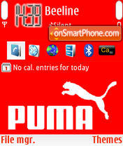 Puma.com theme screenshot