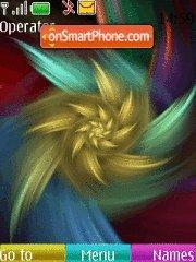 Abstract Colour tema screenshot