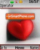 Love Heart es el tema de pantalla