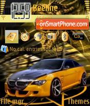 BMW M6 Sport theme screenshot