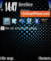 Light Blue v2 theme screenshot