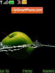 Скриншот темы Green Apple