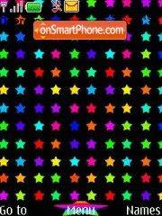 Stars theme screenshot