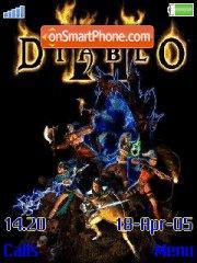 Diablo II es el tema de pantalla