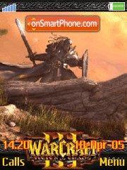 War Craft III es el tema de pantalla