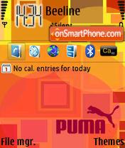 Скриншот темы Puma Square